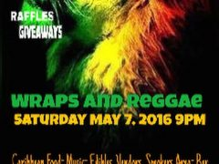 Wraps and Reggae