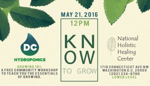Know To Grow event