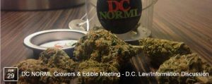 DC NORML Growers & Edible Meeting