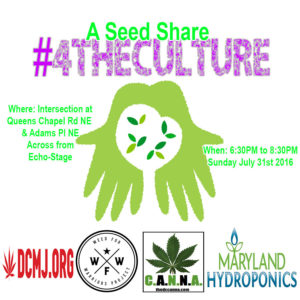 A Seed Share #4TheCulture - July 31 2016