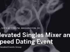 Elevated Singles Mixer and Speed Dating Event
