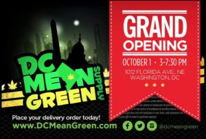 DC Mean Grean Supply Grand Opening - October 1 2016