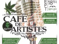 KayaMan Kitchen Presents Cafe Des Artistes