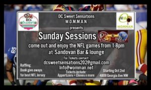 Sunday Sessions presented by DC Sweet Sensations