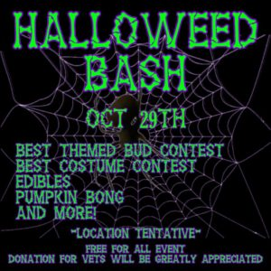 Halloweed Bash Party - October 29 2016
