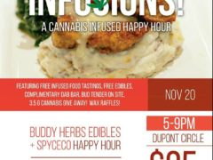 Buddy Herb's Edibles & Spice CO Presents: INFUSIONS Happy Hour - November 20 2016