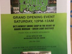Funky Piece DC Head Shop Grand Opening - October 15 2016