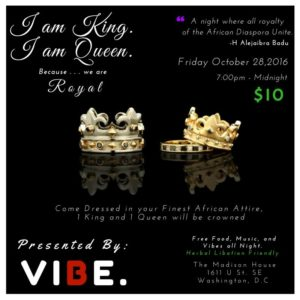 I am King I am Queen Halloween Party - October 28 2016