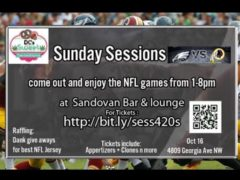 Sunday Sessions presented by DC Sweet Sensations – October 16 2016