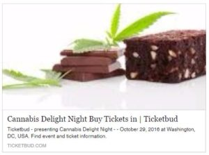 Cannabis Delight Night - October 29 2016