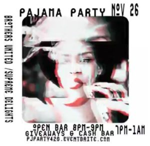 DC 420 Pajama Party - November 26 2016