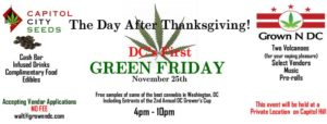 DC Green Friday - November 25 2016