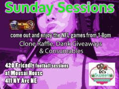 DC Sweet Sensations presents for Sunday Sessions