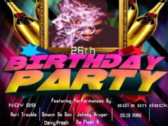 Fat Jefe's 26th birthday party - November 29 2016