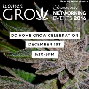 Women Grow DC Home Grow Celebration - December 1 2016