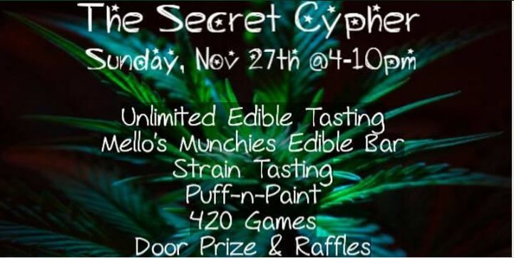 The Secret Cypher by Mello's Munchies - November 27 2016