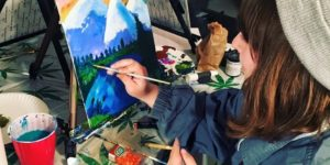 Puff, Pass & Paint Washington DC - December and January Multiple Dates