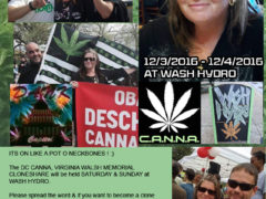 DC CANNA Virginia Walsh Memorial Clone Share - December 3 and 4 2016
