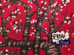 DC Puff & Paint: Almond Tree - January 19 2017