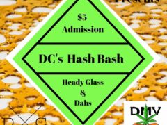 DC's Hash Bash hosted by BP Errl and Funky Piece gallery - January 12 2017