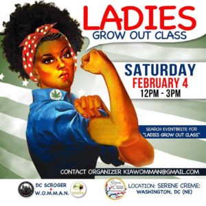 Ladies Grow Out Class - February 4 2017