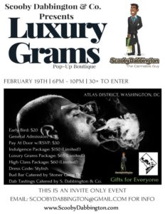 Luxury Grams Pop-up Boutique - February 19 2017