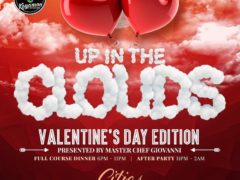 Up In The Clouds Valentine's Day Edition - February 14 2017