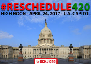 #Reschedule420 hosted by DCMJ - April 24 2017