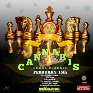 1st Annual Cannabis Chess Classic - February 15 2017