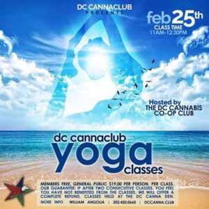 Canna Yoga by DC Cannabis Co-op Club - February 25 2017
