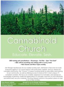 Cannabinoid Church Hosted by Ranger Apothecary - February 26 2017