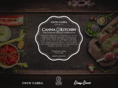Experience the culinary world of cannabis at Coco Canna's Kitchen + Chef's Table menu tasting with Afrodesiacs Chef Sassy Sarah of Yes Please More Please. Our Chef will offer a delicious and sensual three course, gluten free and vegan friendly tasting menu, prepared family style to tantalize your taste buds with fellow friends and loved ones.
