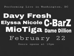 Davy Fresh & C-BarZ Live at Just Blaze Wednesday - February 22 2017