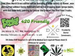 Good Vibes Mardi Grass hosted by Cannabis Karma - February 27 2017
