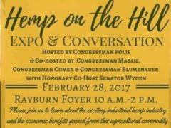 Hemp on the Hill and US Congress Hemp Lobby Day - February 28 2017