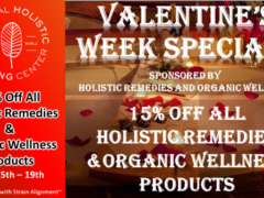 National Holistic Healing Center Valentine Specials - February 15- 19 2017