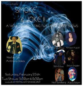 Smoke & Joke II - February 25 2017