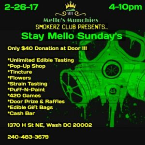 Stay Mello Sunday's hosted by Mello's Munchies - February 26 2017