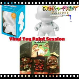 "The Dank N Paint Show ""Vinyl Toy"" Paint Session - February 16 2017"