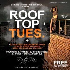 Rooftop Tuesdays - February 21 2017