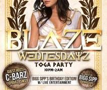 Dr Trichome Presents Blaze Wednesdayz Toga Party - March 22 2017