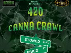 420 Canna Crawl Hosted by Elevated Events Group - April 20 2017