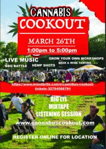 Cannabus Cookout - March 26 2017