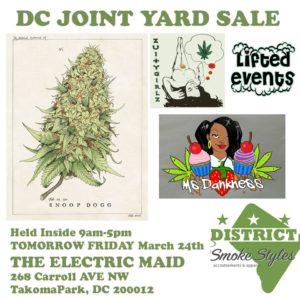 DC Joint Yard Sale inside The Electric Maid - March 24 2017