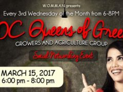 DC Queens of Green Social Networking - March 15 2017