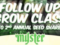 Follow Up Grow Class to Myster's 2nd Annual Clone and Seed Share – March 18 2017