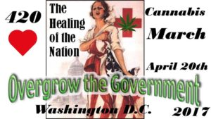 Four Twenty Cannabis March Hosted by 420 Constitutional Cannabis March - April 20 2017