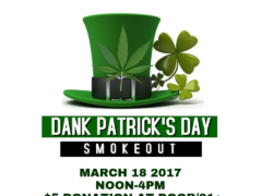 Mamajuana Edibles Dank Patrick's Day Smokeout - March 18 2017