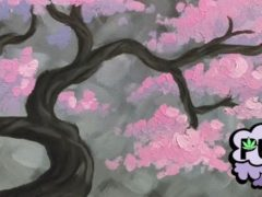 Puff & Paint: Blushing Bonsai - March 25 2017