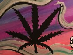 Puff & Paint: Weed Leaf by Puff & Paint - March 31 2017